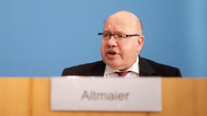 Altmaier stellt den Jahreswirtschaftsbericht vor