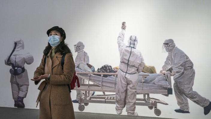 *** BESTPIX *** World Health Organization Team Work In Wuhan