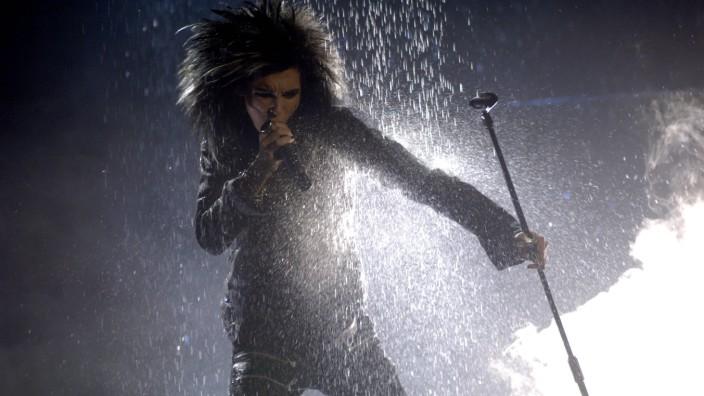 """Tokio Hotel: Mit """"Durch den Monsun"""" wurde Bill Kaulitz aus Loitsche in Sachsen-Anhalt berühmt. Vielleicht zu berühmt. Szene von den MTV Europe Awards 2007."""