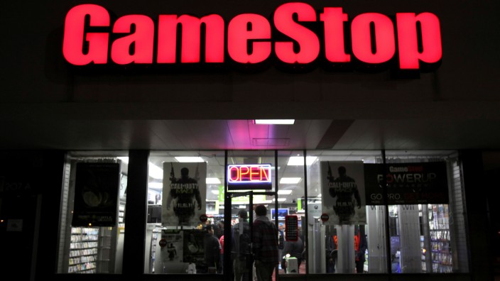 Gamestop-Filiale in Carle Place, New York