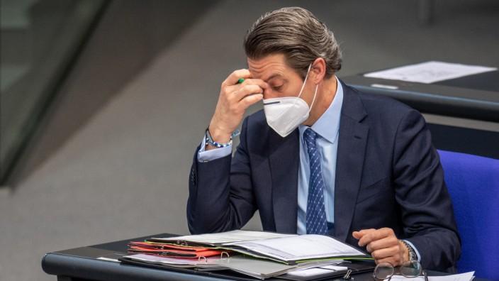 Verkehrsminister Andreas Scheuer / Maut