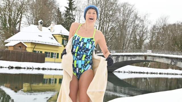 Sylvia Geißendörfer Isarschwimmerin.