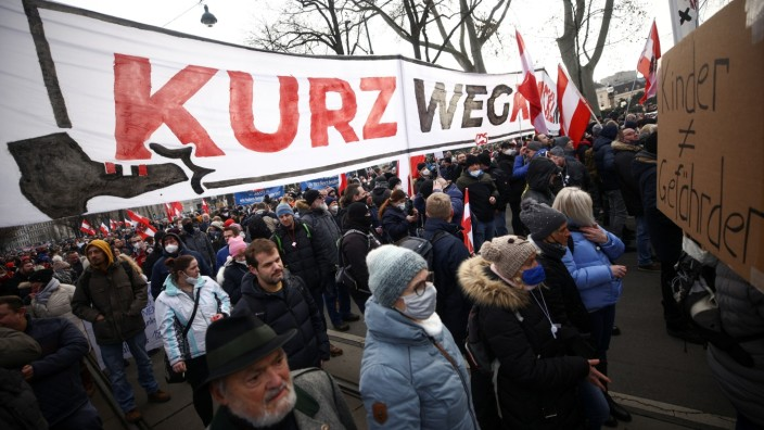 Corona-Protest Wien