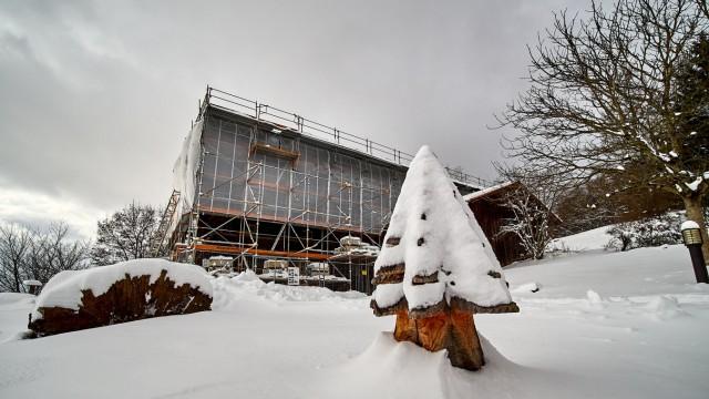 Waldmuseum im Winter