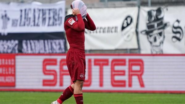 1. FC Nürnberg: Nikola Dovedan nach einer Niederlage gegen den SV Sandhausen
