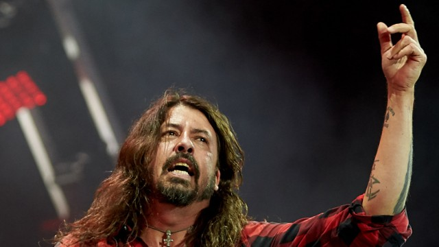 Foo-Fighters-Frontmann Dave Grohl