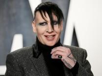 USA: Marilyn Manson stellt sich der Polizei
