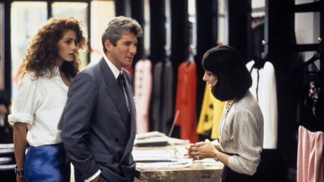 Film still or Publicity still from Pretty Woman Richard Gere and Julia Roberts © 1990 Touchstone Los