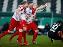 DFB Cup - Third Round - Essen v Bayer Leverkusen