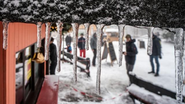 Winter weather in the Taunus