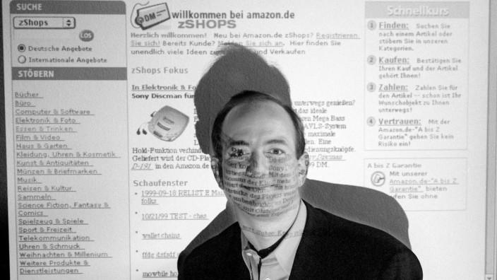 "JEFFREY P. BEZOS, GRÜNDER VON ""AMAZON.COM"""