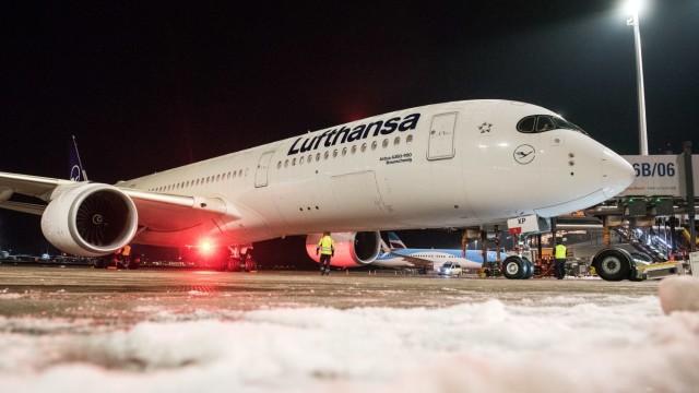 Lufthansa startet zu ihrem längsten Nonstop-Passagierflug
