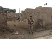 Afghanischer Soldat