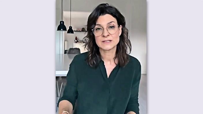 Debatte um Marlene Lufen: Persönlich und emotional: Moderatorin Marlene Lufen im Video, das sie am Montag auf Instagram hochgeladen hat.