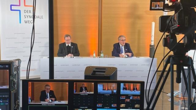 Pressebilder von Website: Synodaler Weg, Online Konferenz