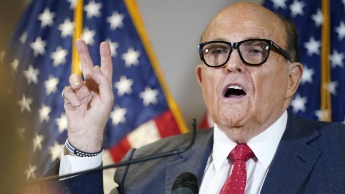 Giuliani, ehemalige Bürgermeister von New York