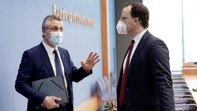 Coronavirus - Pressekonferenz zur Corona-Pandemie
