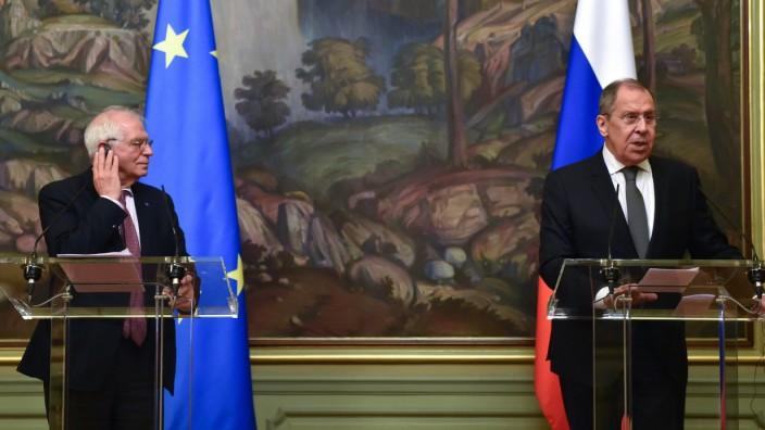 EU-Außenkommissar Borrell besucht Russland