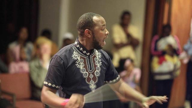 Eslon Hindundu, Komponist, Musiker und Sänger aus Windhoek, Namibia
