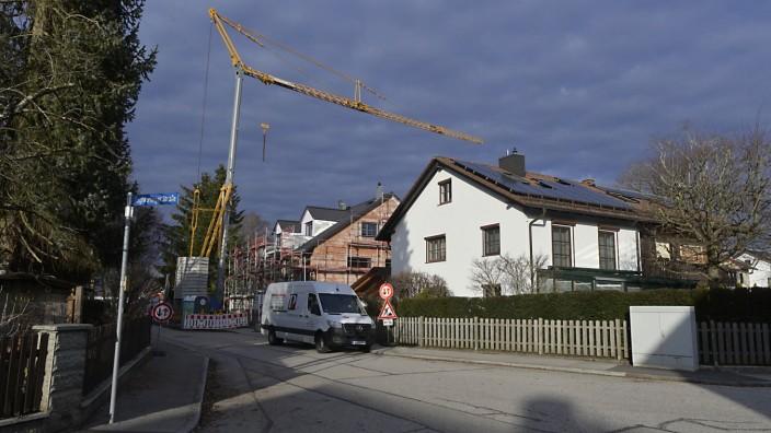 Wohnungspolitik: Lieber nicht zu viel nachverdichtet werden soll in der Waldsiedlung in Höhenkirchen-Siegertsbrunn.