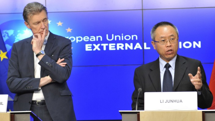 141208 BRUSSELS Dec 8 2014 Gerhard Sabathil L director for East Asia and the Pacific i