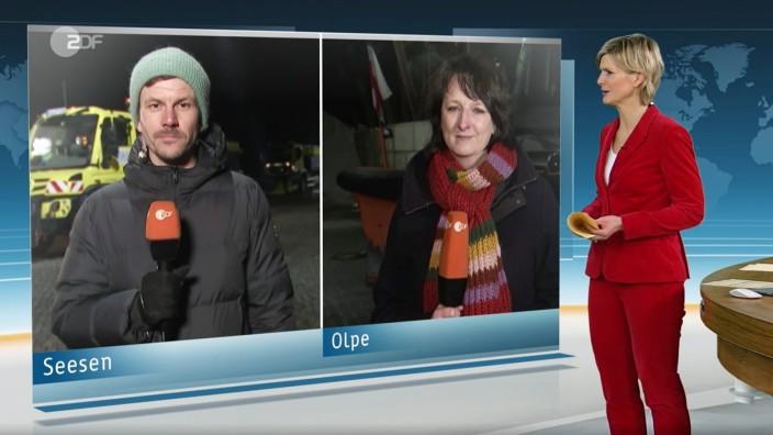 Screenshot ZDF heute Nachrichten vom 06.02.2021