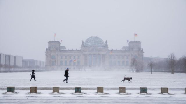 Winterwetter - Berlin