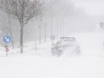 Unwetter: Der Winter zeigt seine raue Seite