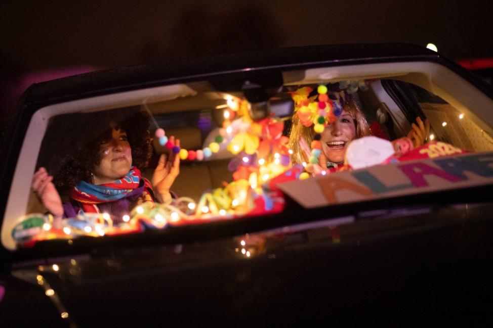 Karneval im Autokino