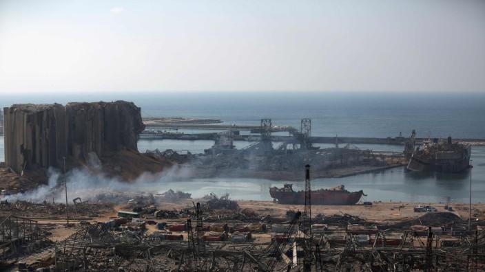 Libanon: Apokalyptisch war der Anblick von Beiruts Hafen nach der Explosion von fast 3000 Tonnen Ammoniumnitrat dort, 200 Menschen kamen um. Nun weiß man, dass zur nächsten Katastrophe nicht viel fehlte.