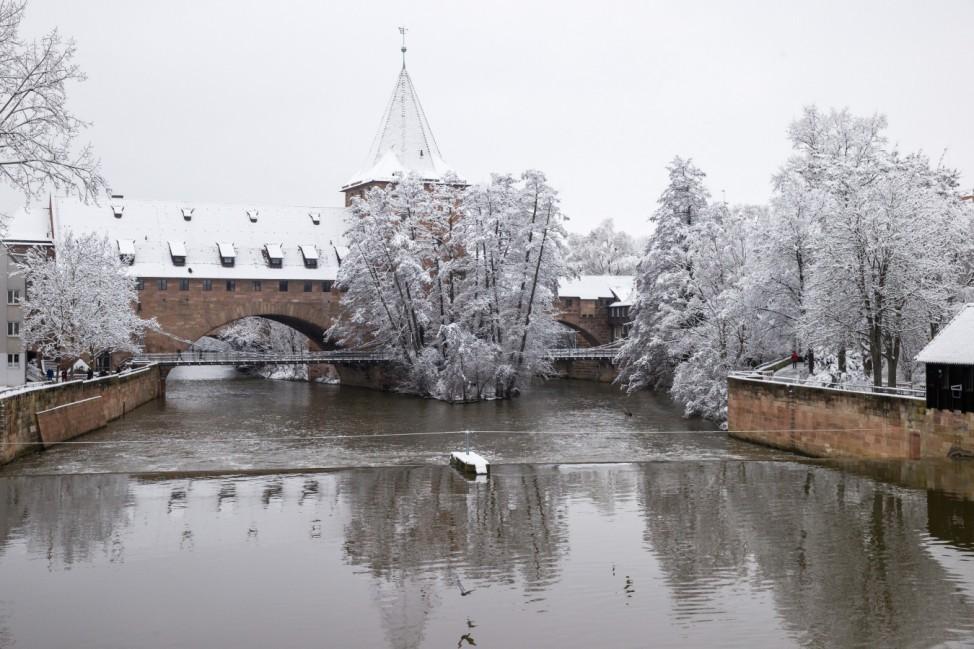 Winterwetter - Nürnberg