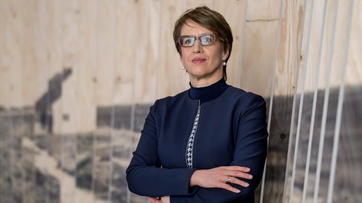 Gundula Bavendamm, Direktorin der Stiftung Flucht, Vertreibung, Versoehnung im neu errichteten Dokumentationszentrum der