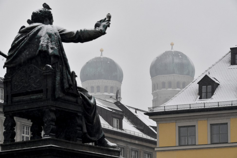 Winterwetter in München