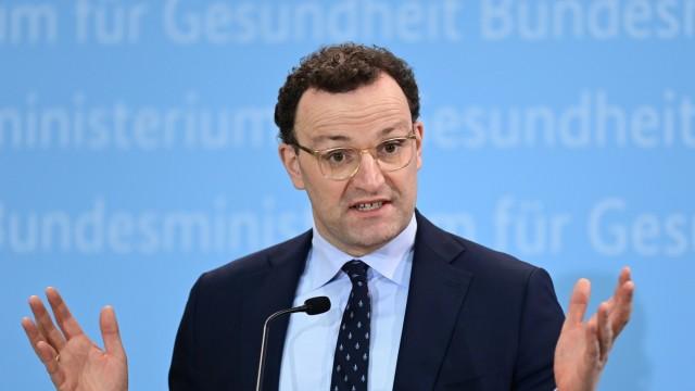 Pressekonferenz mit Bundesgesundheitsminister Spahn