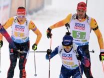 Biathlon-WM 2021 in Pokljuka: Mixed-Staffel mit Arnd Peiffer und Denise Herrmann