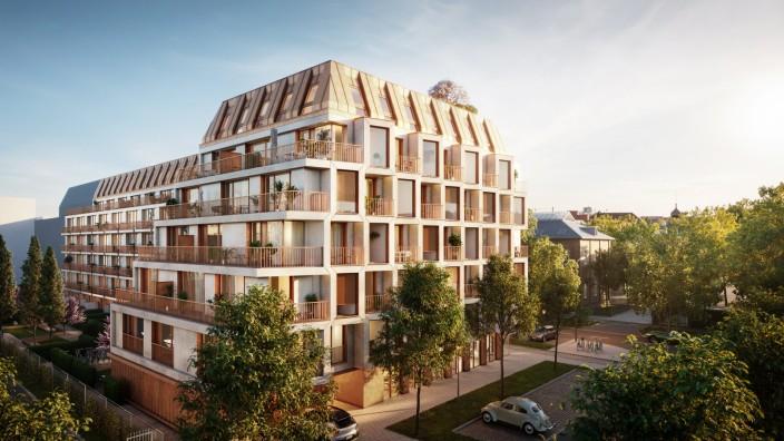 Infanteriestraße - 142 Eigentumswohnungen, nicht ganz preiswert
