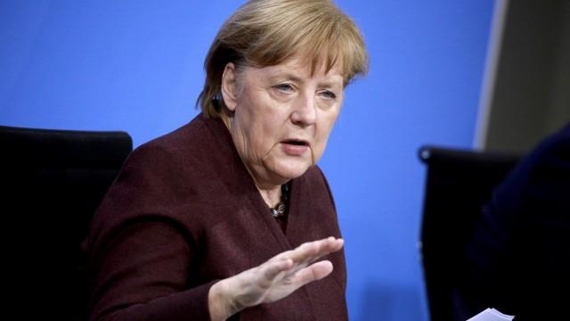 Merkel And States Leaders Convene Over Coronavirus Policies