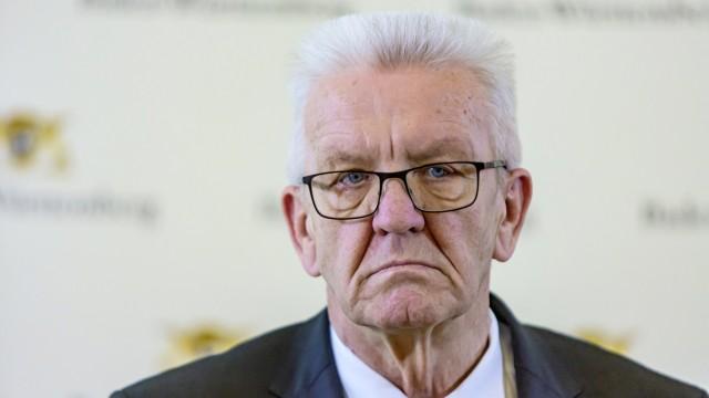 Winfried Kretschmann (Grüne), seit 2011 Ministerpräsident von Baden-Württemberg