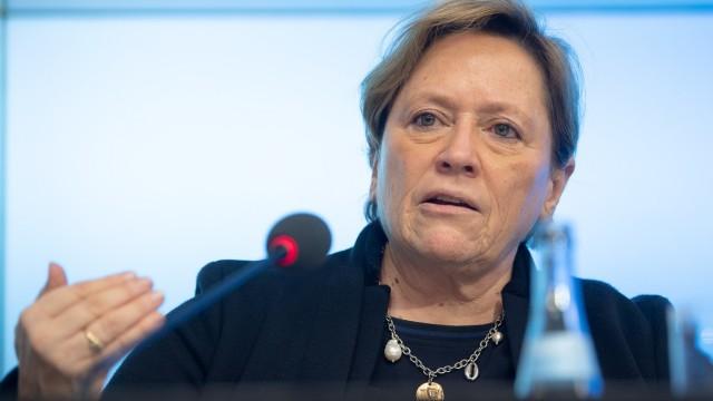 Susanne Eisenmann (CDU), Ministerin für Kultus, Jugend und Sport von Baden-Württemberg.