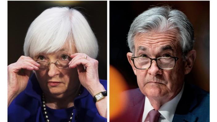 Yellen und Powell, Kombo