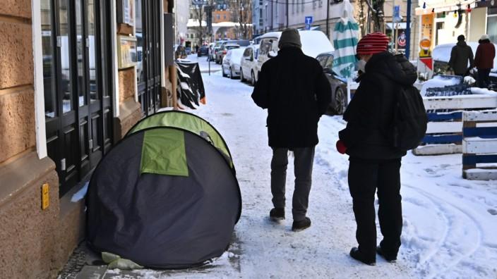 Obdachlos in München
