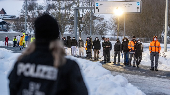 Coronavirus - Testpflicht an Grenze zu Tschechien