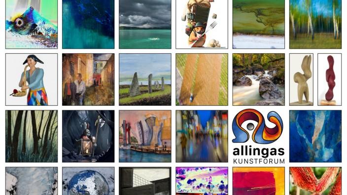 Virtuelle Ausstellung des Kunstforums allingas