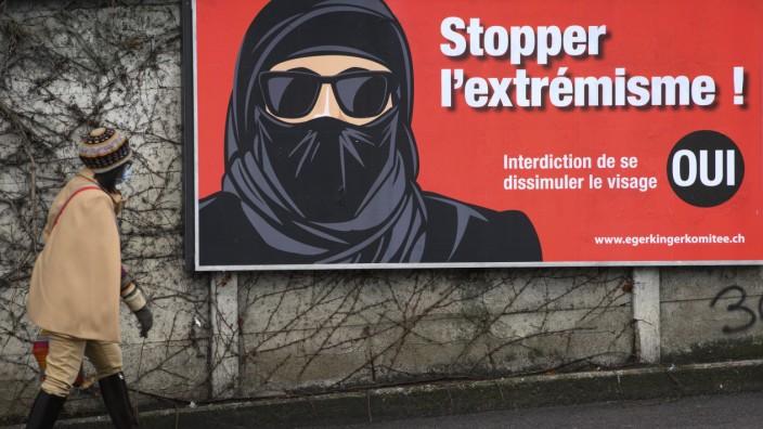 Volksinitiative zum Verhüllungsverbot in der Schweiz
