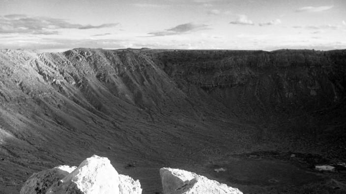 Reise durch Arizona Barringer-Krater in Arizona, 1962. Barringer Crater in Arizona, 1962., USA Copyright: ErichxAndres U