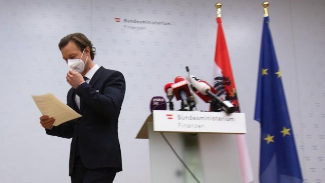 AUSTRIA - CORRUPTION - CASINO - NOVOMATIC - BLUEMEL ÖSTERREICH; WIEN; 20210211; Österreichischer Finanzminister Gernot