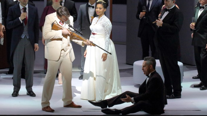 Freischütz Bayrische Staatsoper, Premiere 13.02.21