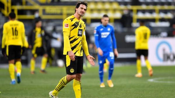 Borussia Dortmund: BVB-Verteidiger Mats Hummel gegen TSG 1899 Hoffenheim
