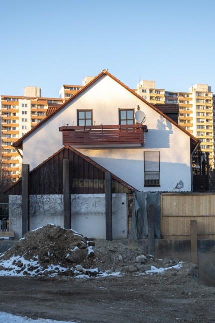 Großbauprojekt in Neuperlach Zentrum