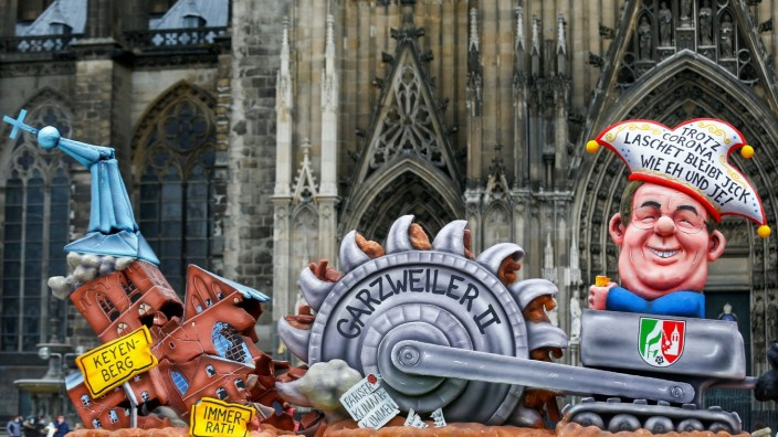 Cancelled ''Rosenmontag'' (Rose Monday) parade due to the COVID-19 pandemic, in Cologne